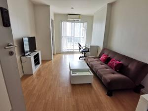 For RentCondoPattanakan, Srinakarin : 👉 Condo for rent Lumpini Place Srinakarin-Huamark Station Condo ready to move in # Near Airport Link Huamark 350 m # 33.17 sqm. # 9th floor near Stamford University