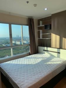 For RentCondoRattanathibet, Sanambinna : ✅ For rent, Lumpini Park Rattanathibet-Ngamwongwan, near MRT size 23 sq m, fully furnished and electrical appliances ✅