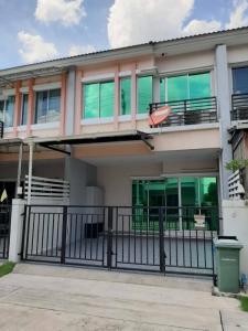 For RentTownhouseRama5, Ratchapruek, Bangkruai : For rent 💥 Vista Park Furniture, built-in, next to the walk Ratchaphruek, near the Rama 5 roundabout.