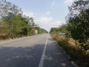 For SaleLandRayong : Land for sale in Nikhom Phatthana District, Rayong Province, 400 rai, next to WHA settlement, purple pattern, suitable to build a factory of 2.5 million rai.