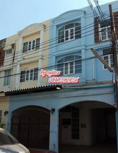 For RentTownhouseRama9, RCA, Petchaburi : Townhouse for rent, 3 floors, 26 sq m. Near Central Rama IX Rd., Rama IX Rd.