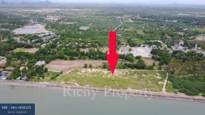 For SaleLandCha-am Phetchaburi : Cha-am, 14 Rai of land next to the sea.