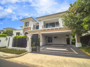 For SaleHousePinklao, Charansanitwong : Code ST014 Single house for sale, new luxury house, never been in Ladawan, Ratchaphruek-Pinklao, 4 bedrooms, 500 sqm, on Ratchapruek Road. Near BTS Bang Wa