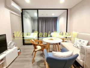 For RentCondoRattanathibet, Sanambinna : Condo for rent, politan rive, location, near the river, beautiful decoration, ready to move in, minimal style.