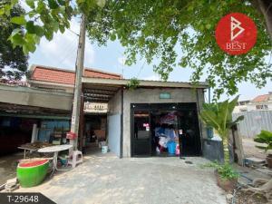 For SaleTownhouseBangbuathong, Sainoi : Single storey townhouse for sale, Bang Yai, Nonthaburi, with laundry business.