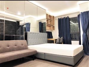 For RentCondoOnnut, Udomsuk : For rent Ideo Sukhumvit 93 - Studio, size 26 sq.m., Beautiful room, fully furnished.