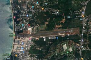 For SaleLandPhuket, Patong : Land next to Phuket Airport, opposite of Phuket water park 2.8M.