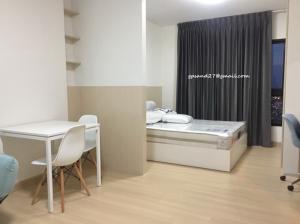 For RentCondoThaphra, Wutthakat : For Rent Supalai Loft Talat Phlu, floor 33 with washing machine.