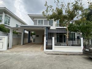 For SaleHouseLadkrabang, Suwannaphum Airport : 2 storey detached house for sale, Perfect Place, Sukhumvit 77, Sukhumvit 77, Racha Thewa, Bang Phli, Samut Prakan.