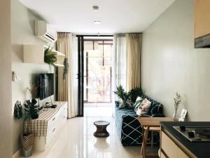 For SaleCondoWongwianyai, Charoennakor : Ideo Blucove Sathorn 1bedroom corner unit new renovated for sale