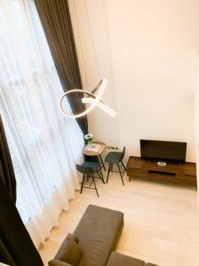 For RentCondoSathorn, Narathiwat : For rent KnightsBridge Prime Sathorn - Duplex 1 Bed, size 37 sq.m., Beautiful room, fully furnished.