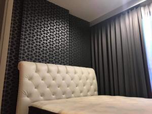 For RentCondoRama9, RCA, Petchaburi : Urgent rental, high floor, most beautiful decoration in the website, very good price, The Base Garden- Rama 9