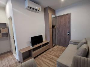 For RentCondoBangna, Lasalle, Bearing : 🔥 HOT !! For Rent Condo Niche Mono Sukhumvit - Bearing, near BTS Bearing 28 sqm. 16th floor, ready to move in