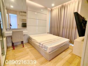 For RentCondoRama9, Petchburi, RCA : For rent 1 bedroom 36 sqm Condo near MRT Phetchaburi, near Airport link Makkasan, fully furnished, good price.