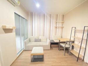 For RentCondoRamkhamhaeng, Hua Mak : For Rent U Delight @ Hua Mak, 31 sqm, 11th floor, fully furnished, zone N, 10,000 baht