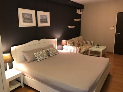 For RentCondoRamkhamhaeng, Hua Mak : For rent, Condo Supalai CITY RESORT Ramkhamhaeng. Size 30 sqm. Floor 6, Building B 8,000 B.