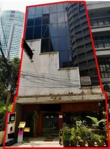 For RentShophouseSukhumvit, Asoke, Thonglor : Commercial building for rent, 5 floors, 2 booths, Sukhumvit 20, usable area 540 sqm., Near BTS Asoke.