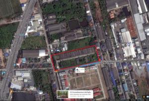 ขายที่ดินบางแค เพชรเกษม : ขายที่ดินหน้ากว้าง250เมตร ถนนเลียบคลองภาษีเจริญฝั่งเหนือ
