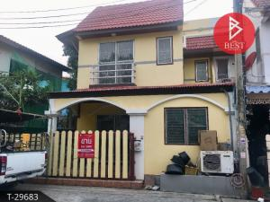 For SaleTownhouseBangbuathong, Sainoi : Townhouse for sale Pattrawan Village Chaiyapruek-Bang Bua Thong, Nonthaburi