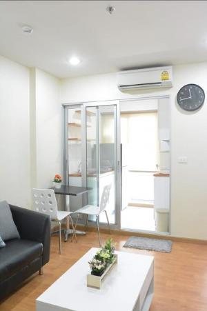 For RentCondoThaphra, Wutthakat : Condo for rent, The President Sathorn-Ratchaphruek 2, next to BTS and MRT Bang Wa, 35 sqm, 1 bedroom, 1 bathroom, 14th floor.