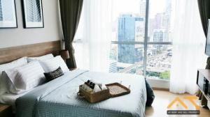 For RentCondoSathorn, Narathiwat : For Rent  Rhythm Sathorn  1Bed , size 50 sq.m., Beautiful room, fully furnished.