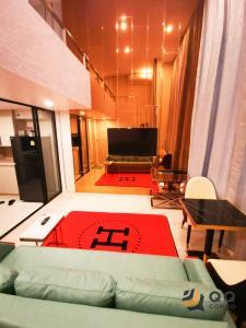 For RentCondoSathorn, Narathiwat : 🎈💥For rent  KnightsBridge Prime Sathorn  Duplex, size 38 sq.m. Beautiful room, fully furnished.🎈💥