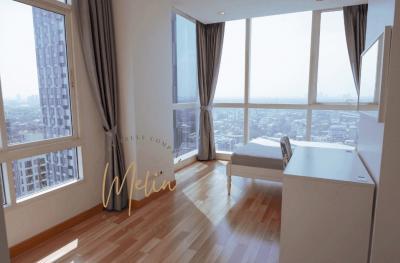 For RentCondoOnnut, Udomsuk : Condo for rent / sale, IDEO Verve Sukhumvit 60 sq m. 2 bedrooms, 2 bathrooms, Hight Rise, 28th floor, near Bts On Nut.