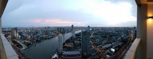 For RentCondoWongwianyai, Charoennakor : The River condominium 132 sqm on 53 floor with gorgeous river view 89k