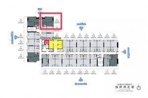 For SaleCondoKasetsart, Ratchayothin : ขายดาวน์เท่าทุนโครงการ Knightsbridge Space Ratchayothin #1bedroom plus 35 ตร.ม. ชั้น 19 ทิศตะวันออก ราคา 6.89 ล้าน | ติดต่อ 0982566180