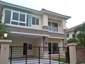 For RentHouseRama5, Ratchapruek, Bangkruai : HR674 2 storey house for rent. Casa Grand Rattanathibet - Ratchapruek Village, convenient to travel