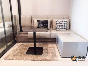 For RentCondoThaphra, Wutthakat : For rent  Ideo Thaphra Interchange 1 Bed, size 28 sq.m., Beautiful room, fully furnished.