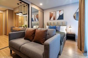 เช่าคอนโดอารีย์ อนุสาวรีย์ : Maestro 07 Victory Monument  -Room types : 1 bed 1 bath  -Size : 27 sq.m  -Floor : 3  -Rental : 18,000 baht/month