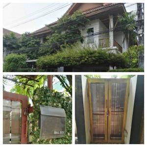 For RentHouseLadprao101, The Mall Bang Kapi : BH865 2-storey house for rent, 3 bedrooms, 3 bathrooms, Pitchanan Village, Soi Sukonthasawat, Ladprao District, fully furnished, rent 30,000 baht per month.