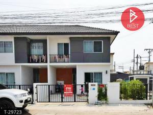 For SaleTownhouseBangbuathong, Sainoi : Townhouse for sale behind the corner, Pruksa 38, Bang Kruai-Sai Noi, Nonthaburi, fully furnished.