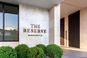 ขายคอนโดสุขุมวิท อโศก ทองหล่อ : ด่วน‼️ราคาปิดโครงการ The Reserve สุขุมวิท 61 1 นอน 49 ตร.ม. 10.7 ลบ.🔥🔥