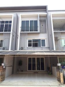 For SaleTownhouseBang kae, Phetkasem : 3-storey townhome for sale, the exclusive village Sathorn - Kanlapapruek, large back, width 5.7 meters