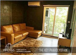 เช่าคอนโดเกษตรศาสตร์ รัชโยธิน : 🧨 ห้องตกแต่งสวย เฟอร์นิเจอร์ครบ ราคาถูก!! เช่าคอนโด The Key Phahonyothin (เดอะ คีย์ พหลโยธิน) ใกล้ BTS เสนานิคม