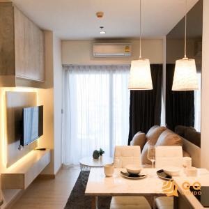 For SaleCondoOnnut, Udomsuk : For Sale  Whizdom Connect Sukhumvit  1 Bed , size 28 sq.m., Beautiful room, fully furnished.
