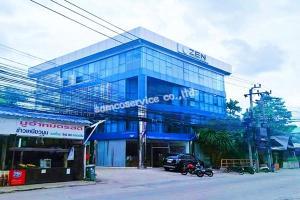 For RentOfficePattanakan, Srinakarin : OWR 02 ให้เช่า For rent อาคารสำนักงาน 4 ชั้น พร้อมโกดังเก็บสินค้า ซอยพัฒนาการ 30 เข้าออก ได้หลายเส้นทาง