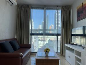 For RentCondoWongwianyai, Charoennakor : 🔥🔥🔥 **Special price 13,500 baht. Condo for rent, BANGKOK FELIZ KRUNGTHON 5-2 (Bangkok Feliz Krungthonburi 5-2), room size 43 sq.m., 6th floor, Soi Krung Thon Buri 5 and Soi Charoen Nakhon 14 near BTS Krungthonburi, only 2 minutes / near In