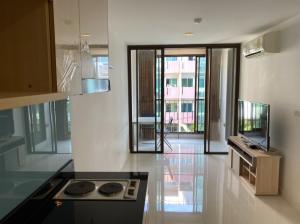 For RentCondoWongwianyai, Charoennakor : Condo for rent Ideo BluCove Sathorn Wongwian Yai 5th floor AOL-F82-2103003558.