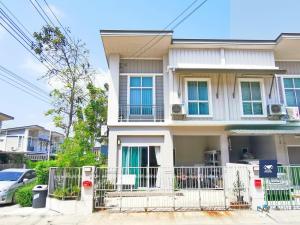 For SaleTownhouseRama 2, Bang Khun Thian : 2-storey townhome, Pruksa Ville 80, Tha Kham, Rama 2, corner plot, near the central garden, only 3.0 million.