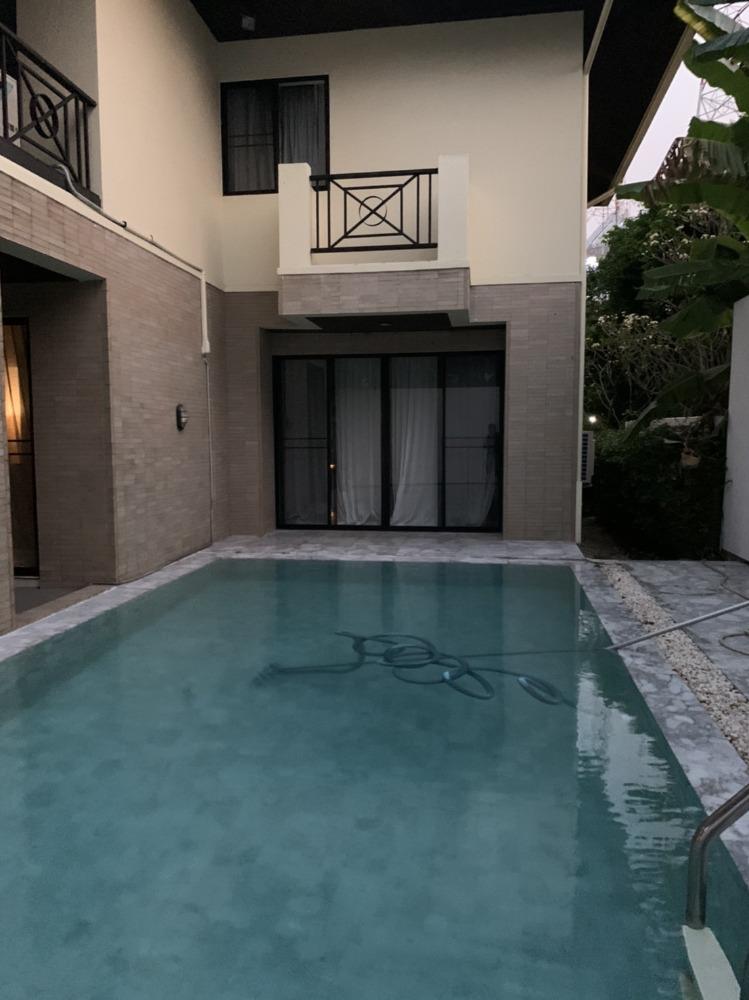 For RentHouseVipawadee, Don Mueang, Lak Si : ให้เช่าบ้านเดี่ยว2ชั้นซอยวิภาวดีรังสิต4 พร้อมสระว่ายน้ำส่วนตัว ใกล้อารีย์ ตกแต่งพร้อมอยู่