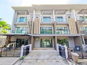 For SaleTownhouseRama 2, Bang Khun Thian : Town Avenue Rama 2 Soi 30, a very beautiful house, new grip, the owner has never been in. Plus fir * (very new furniture, not unwrapped plastic cover), only 4.8 million