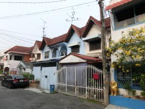 For SaleTownhouseChokchai 4, Ladprao 71, Ladprao 48, : Townhouse for sale Ladprao Village, Nak Niwat 42, Ladprao Subdistrict, Lad Phrao District, Bangkok