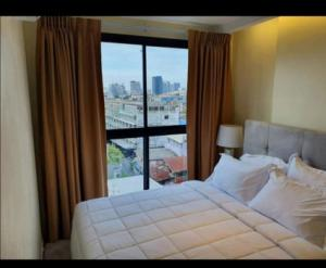 For RentCondoThaphra, Wutthakat : Condo for rent, beautiful room, ready to move in Electrical appliances Grand Condo Wutthakat 53 28 sqm. Ready to visit
