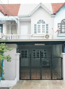 For SaleTownhouseThaphra, Wutthakat : Townhouse for sale Sampeng Floating Market, Song Glapaphruek Market, near Sathorn