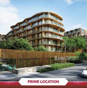 For SaleCondoPattaya, Bangsaen, Chonburi : Urgent sale !! Ramada Mira North Pattaya, 6th floor, room 29 sqm., Pool view, corner room