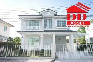For SaleHouseRangsit, Patumtani : Urgent sale, 2-storey detached house, Pruklada 1-Rangsit Klong 4, Lam Luk Ka, Khlong 4, in and out of Rangsit-Thanyaburi, near the BTS Big C Ring Kanchana (Bang Na - Bang Pa-in) Rama 9 Expressway