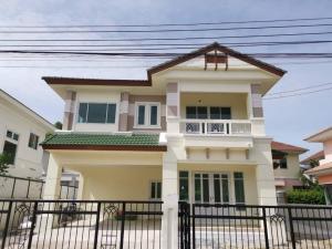 For SaleHouseLadkrabang, Suwannaphum Airport : House for sale, Perfect Place Sukhumvit 77 - Suvarnabhumi, land 72 sq m, usable area 220 sq m.